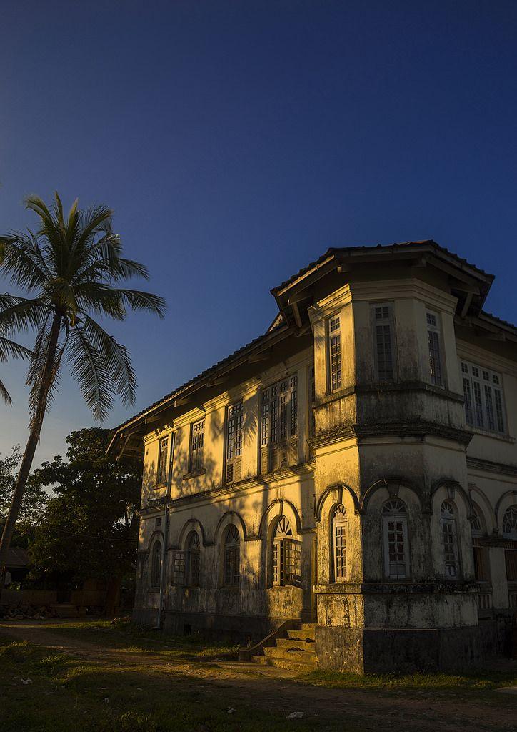 Monastery Building, Sittwe, Myanmar | by Eric Lafforgue