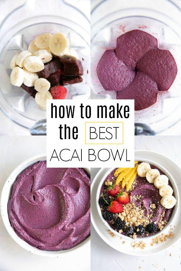 Acai Bowl Bowl Recipes Easy Smoothie Bowl Recipe Smoothie Bowls Recipe Easy