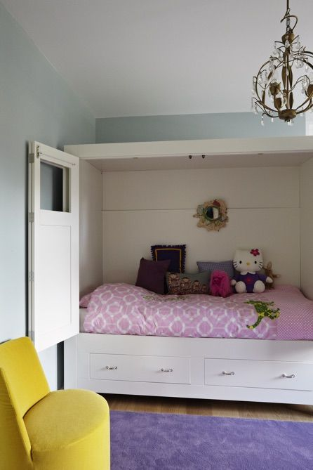 Girls room - Interiordesign by Evelijn Ferwerda & Rachel van Dullemen
