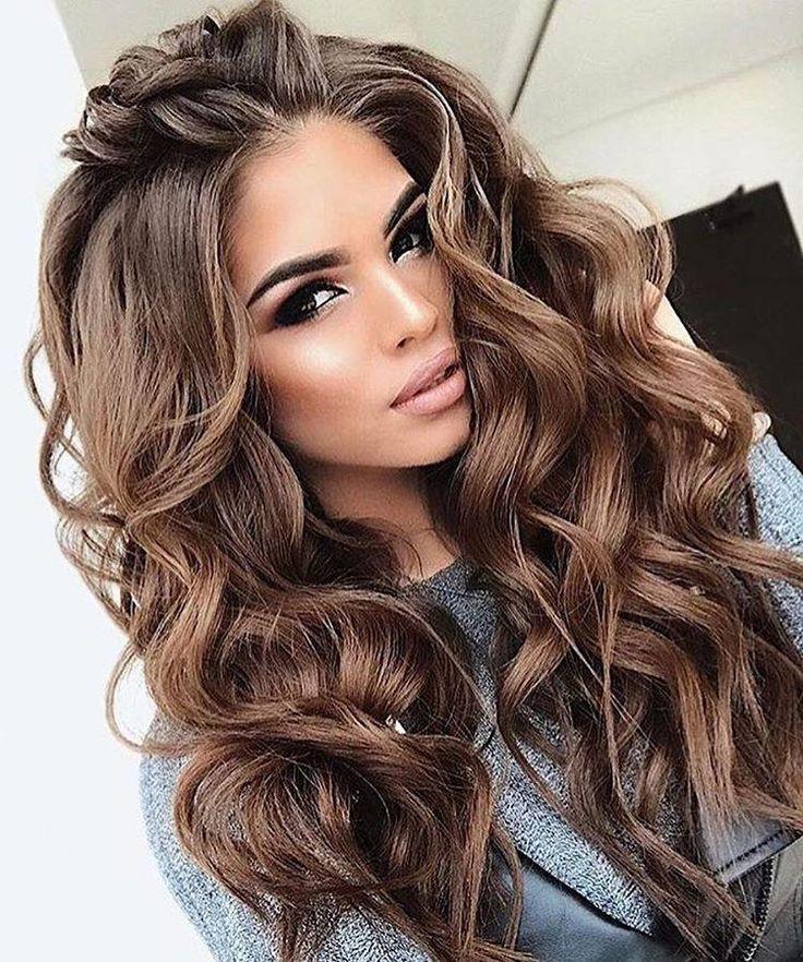2019INS hot dark brown wig 2019INS hot dark brown wig – splendidwig