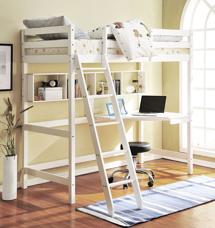 Details about High Sleeper Loft Bed New York Cabin bed