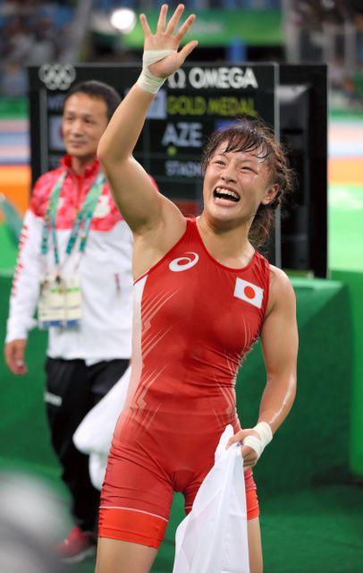 レスリング登坂絵莉が金メダル 女子48キロ級