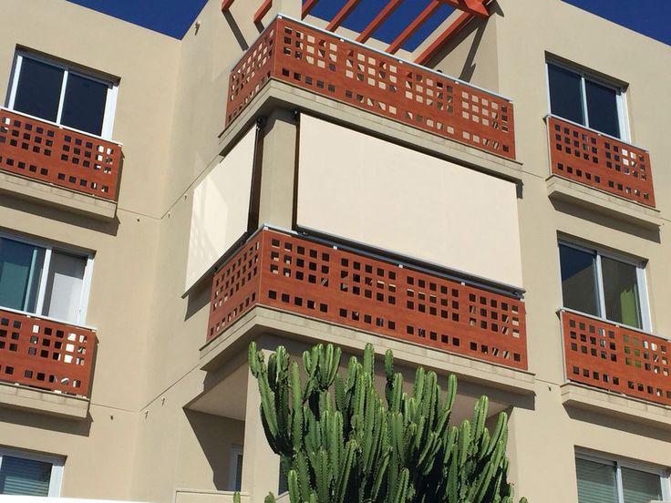 Cerramiento de balcon en un nuevo residencial del medano - Decoracion tenerife ...