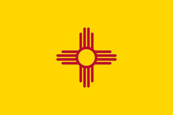 New Mexico State Flag (Wikimedia)