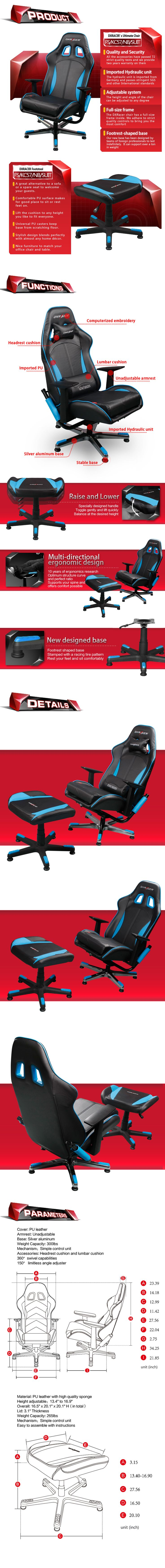 57 best Video Gaming Chairs DXRacer images on Pinterest