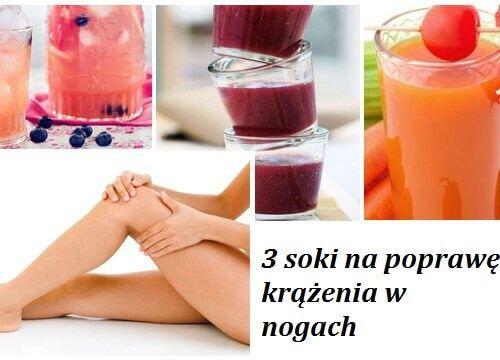 W dzisiejszym artykule przedstawimy Ci przepisy na 3 soki, które w prosty i naturalny sposób poprawią krążenie w Twoich nogach.