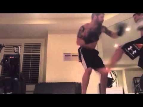 Tom Hardy training with Jacob Tomuri - 2nd video