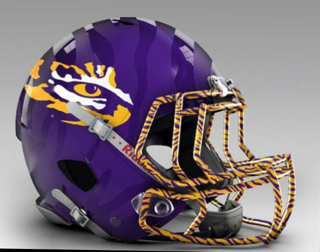 Future LSU football helmet