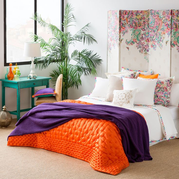 Gathered quilt - Quilts - Bedroom | Zara Home Spain
