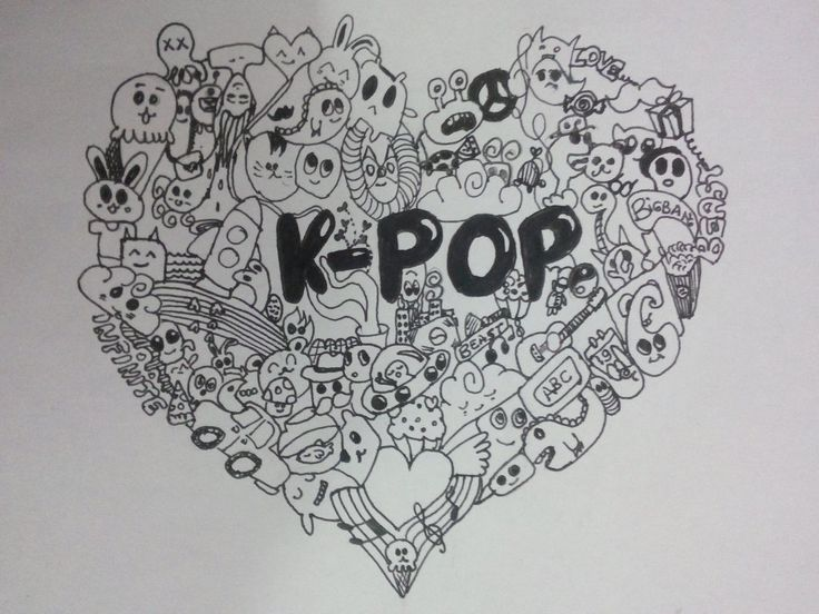 Mandalas Para Colorear De Bts: Kpop, Chibi And BTS On Pinterest