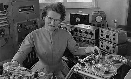 Daphne Oram, invented the 'Oramics' technique for creating electronic sounds.