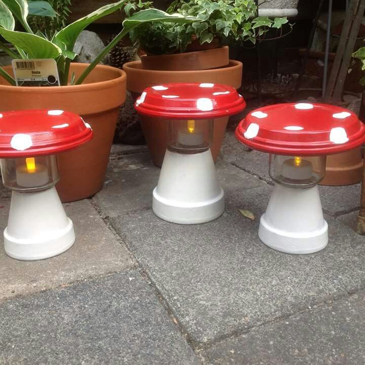 Mooie lantaren voor in de tuin of voor op de tafel ♡
