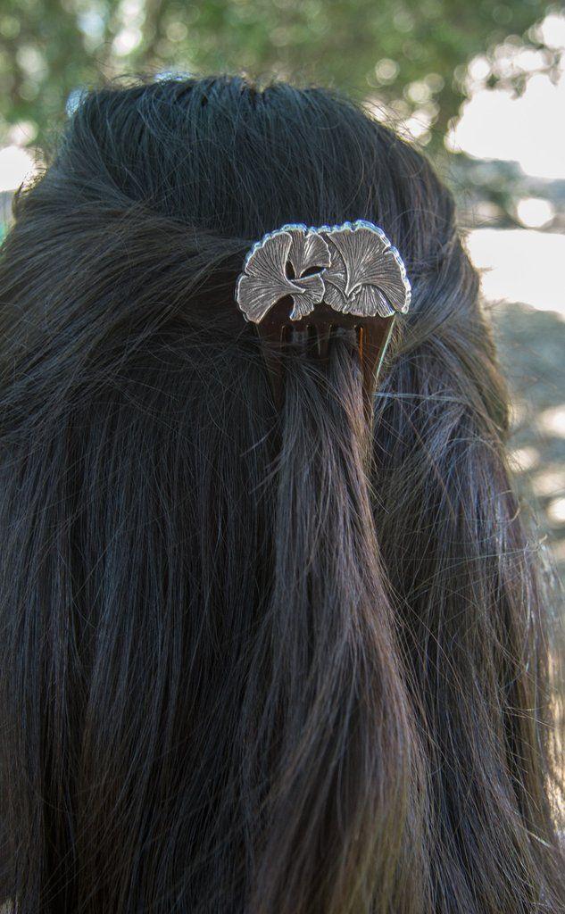 Hair Accessory   Hair Comb   Ginkgo