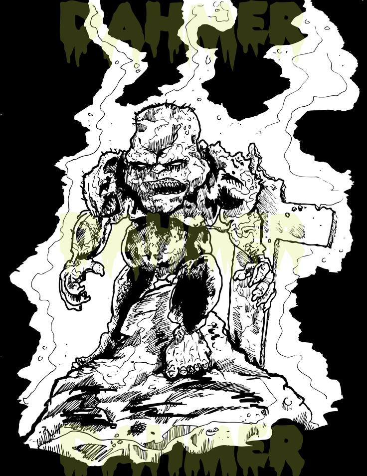 Illustration, Art, Horror, Monsters, Demons, Creatures