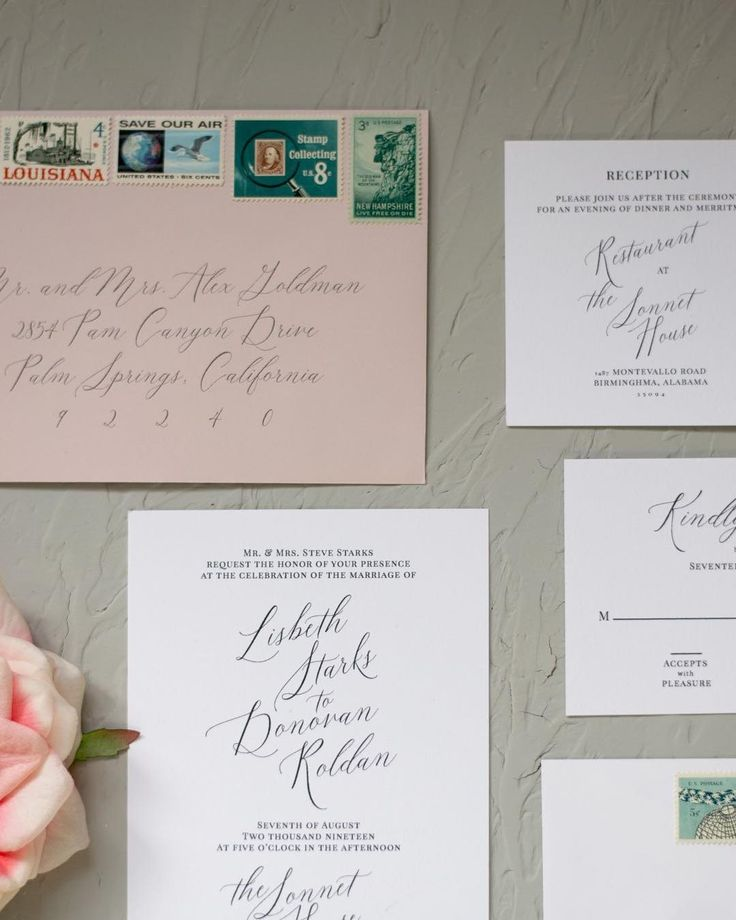 The 25+ best Calligraphy invitation suites ideas on Pinterest ...