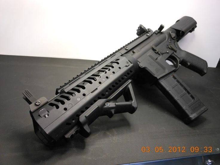 Nice little AR pistol