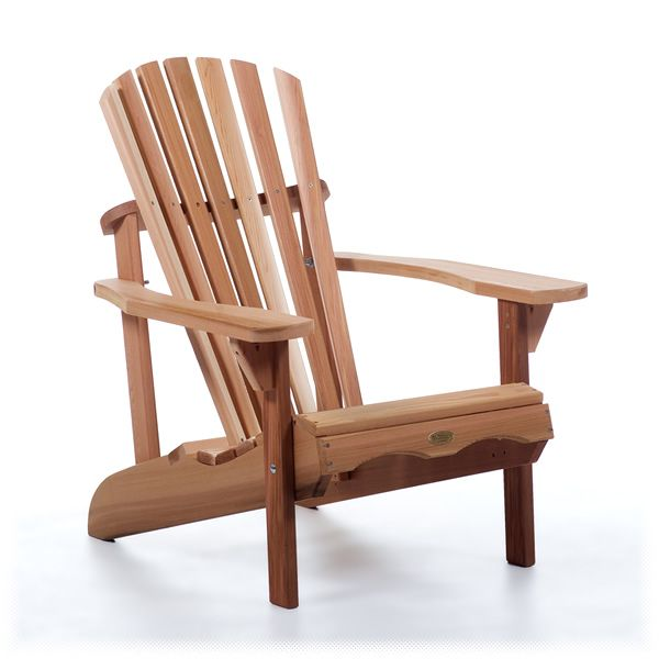 Our Cedar Adirondack Chair. Manufactured From Clear Western Red Cedar.  Features Traditional Charm Combined Part 73