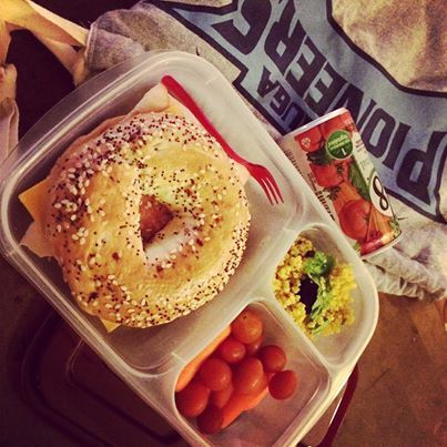 High school lunch idea | packed in @EasyLunchboxes containers
