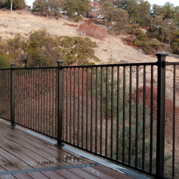 Fortress Fe26 Iron Railing System Combines Classic Beauty
