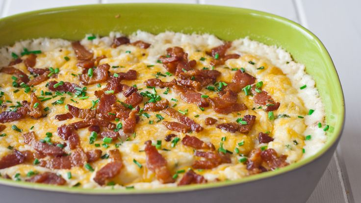 mashed potatoes with bacon and three cheeses-1-5