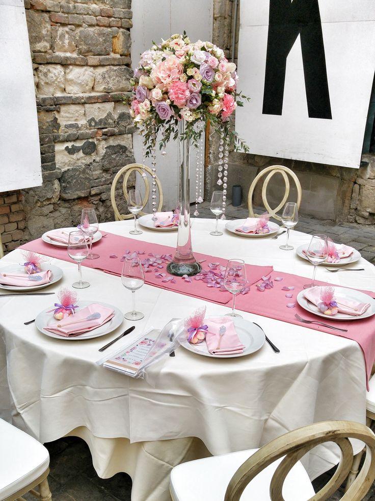 Esküvői asztaldíszünk az Esküvő Classic magazin fotózáson