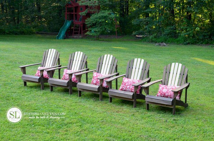 Staining adirondack chairs outdoor living diy furniture and wooden furniture - Garden furniture ideas fun good taste ...