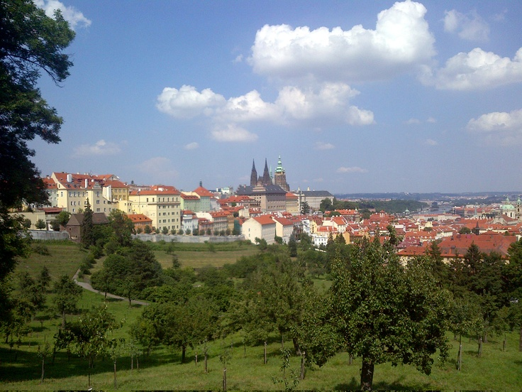 Sunny afternoon in Prague (mobile photo)