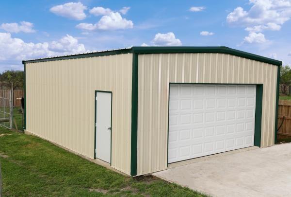 Standard Series Metal Building Kit Photos Mueller Inc In 2020 Metal Buildings Metal Building Kits Building Permits