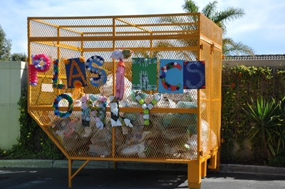 Not only did they win the Eco Champ award, but Sunningdale Preparatory also bagged the title for best dressed plastics cage! Each class decorated a letter in their own unique way to contribute to this very colorful design.