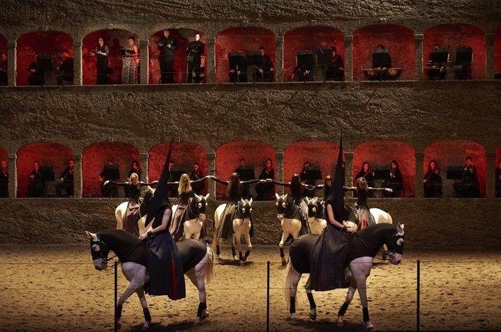 New Évènement : Le Requiem de Mozart, l'Académie équestre de Versailles en ballet équestre
