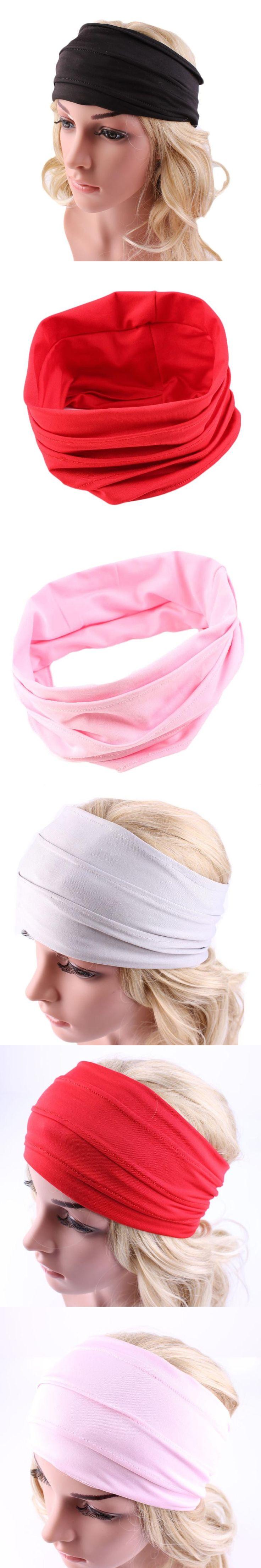 MUQGEW 2017 stylish Womens Hair Accessories  Headwrap Nonslip Wide Headband Yoga Headband Boho Headwear Running Head band