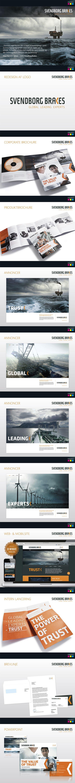 International identitet for Svendborg Brakes by Masters Reklame, via Behance #mastersreklame