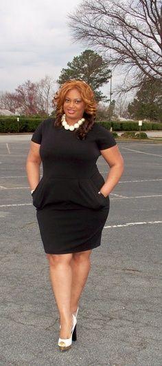 Plus Size Mini Dress I love