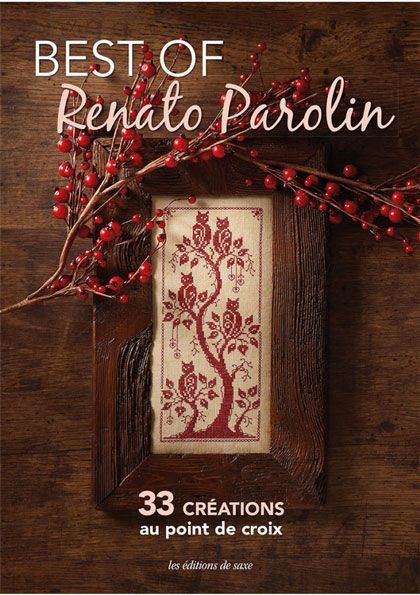 Best of Renato Parolin From Les �dition de saxe - Books & Magazines - Embroidery - Casa Cenina