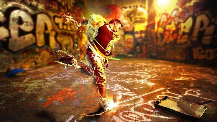3D Beautiful Dancing Step HD Wallpaper