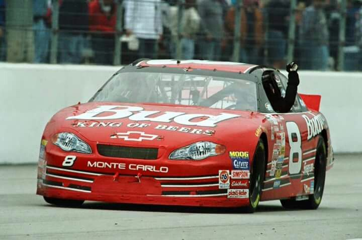 Sure miss that red #8 Bud car on the track