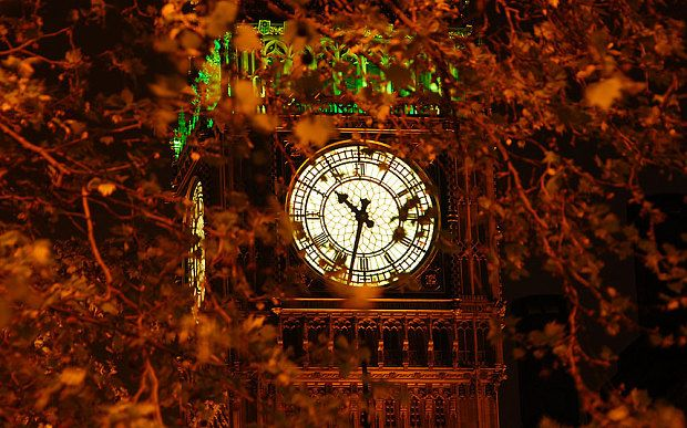 "Big Ben / To remember which way to set your watch during daylight saving time change, there's a useful (albeit slightly American) mnemonic: ""spring forward, fall back""."
