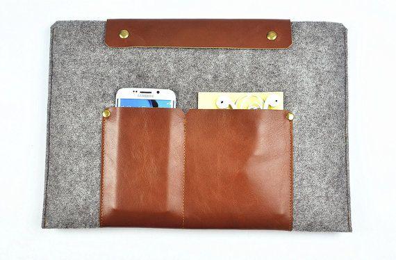Lenovo Yoga pro case Leather laptop sleeve Yoga 3 by FeltBagWorld