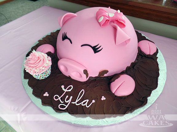 Last month, I had the pleasure of creating an adorable cake for my sister's friend... It was her little girl's 1st birthday! When she to...