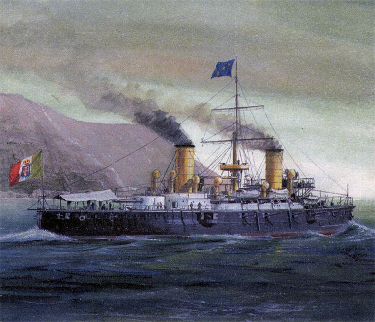 Krążownik pancerny Giuseppe Garibaldi 1912