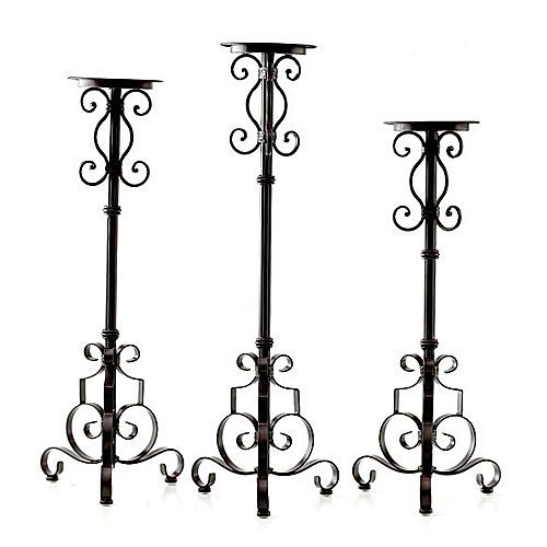candle holders candleholders candelabras ironaccents interior home