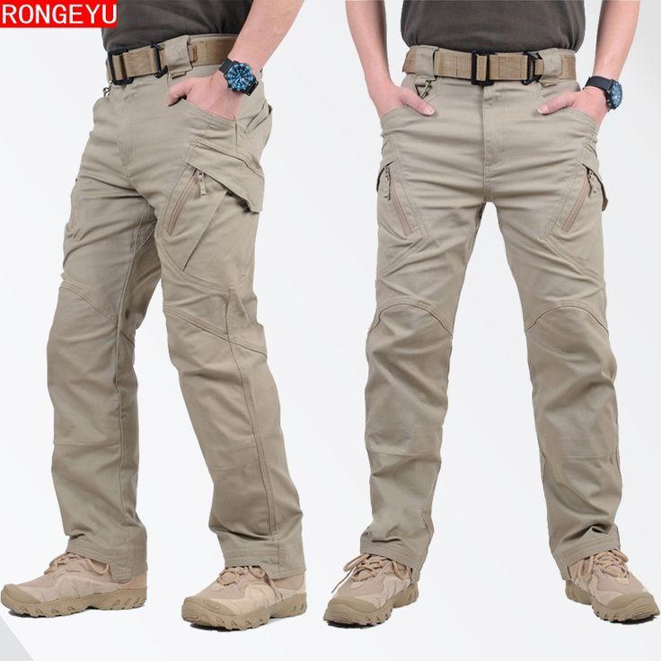 IX9 Tattiche Pantaloni SWAT Army Military Pantaloni Uomo Cargo Pantaloni Per Uomini Stile Militare Pantaloni Casual