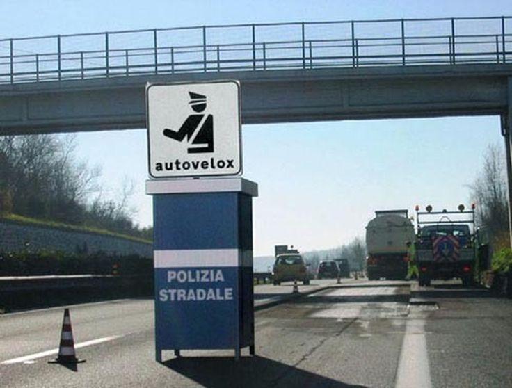 Autovelox elenco regione per regione, controlli intesificati  in occasione del Ponte del Primo Maggio.