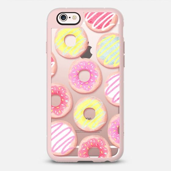 Cute Candy Donuts Sweets Pattern Rachillustrates Rachel Corcoran - Classic Snap Case