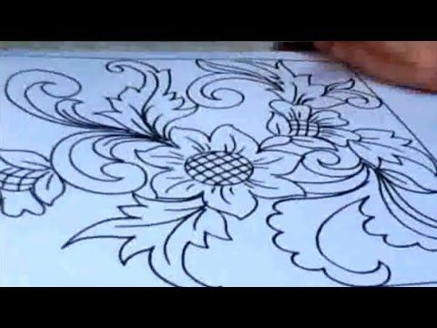 Inspirasi Keren Menggambar Bunga Ornamen Dengan Mudah Youtube Di 2021 Gambar Bunga Sketsa Bunga