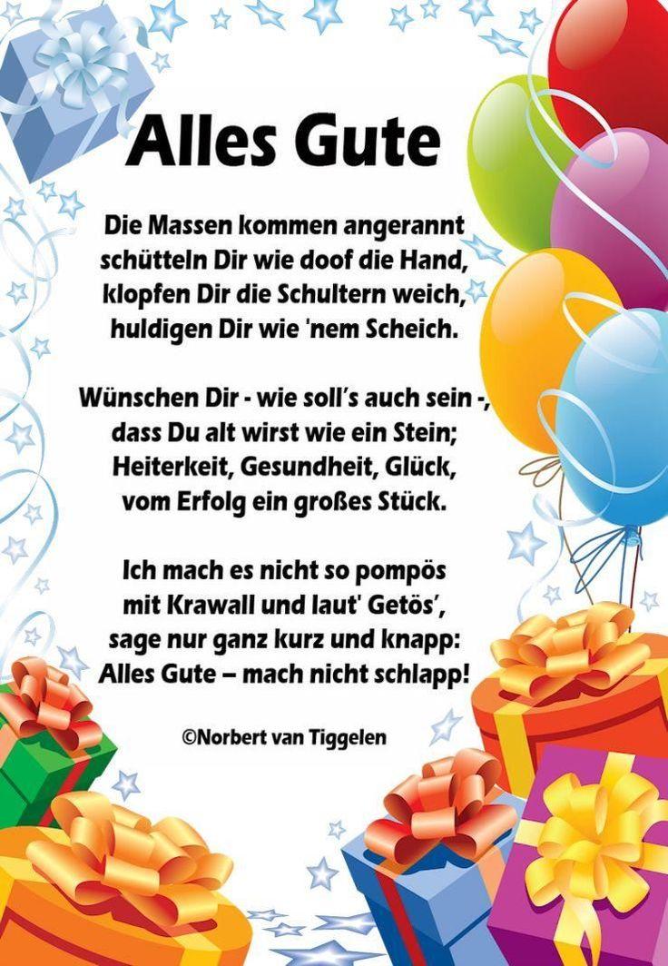 Sprüche Geburtstag Lustig