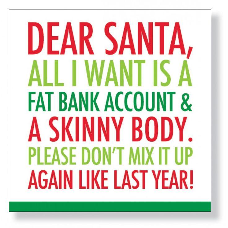 Bank Account Christmas Beverage Napkins - NEW!