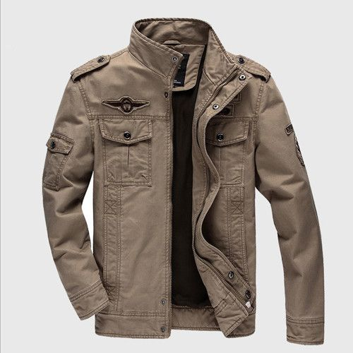 MAGCOMSEN Bomber Men Jackets and Coats Air Force 1 Military Tactical Jackets Man Clothing Windbreaker Coat Overcoat AG-SSFC-01
