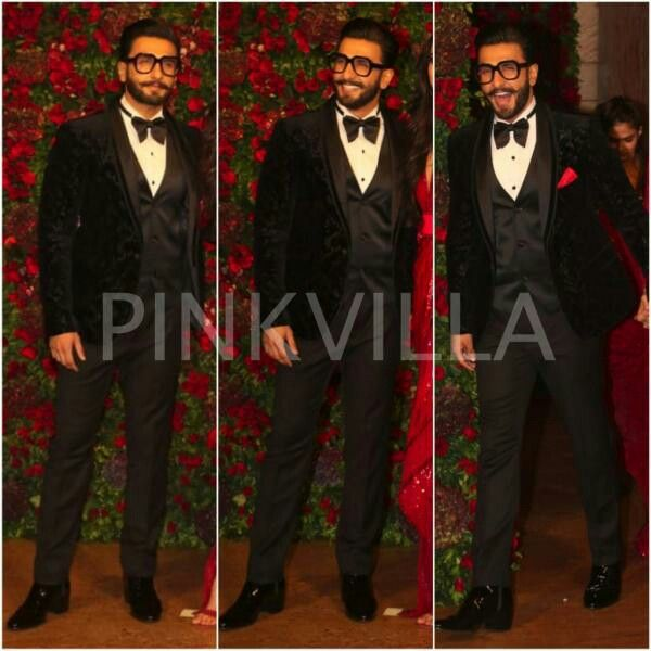 Ranveer Singh look dapper in duo designers Rohit Gandhi and Rahul