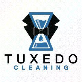 Exclusive Customizable Logo For Sale: Tuxedo Cleaning   StockLogos.com https://stocklogos.com/logo/tuxedo-cleaning